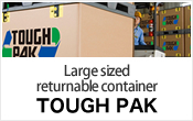 Large size returnable container TOUGH PAK